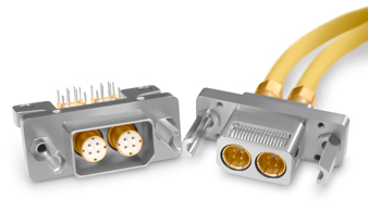 Fibre Channel D-Sub 150 Ohm Quadrax Connectors