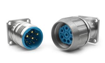 M23不锈钢制圆形连接器,S系列及L系列