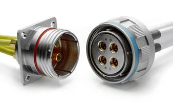 MIL-DTL-38999罩壳式20及26四屏蔽同轴连接器