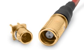 四屏蔽同轴/双屏蔽同轴微型连接器