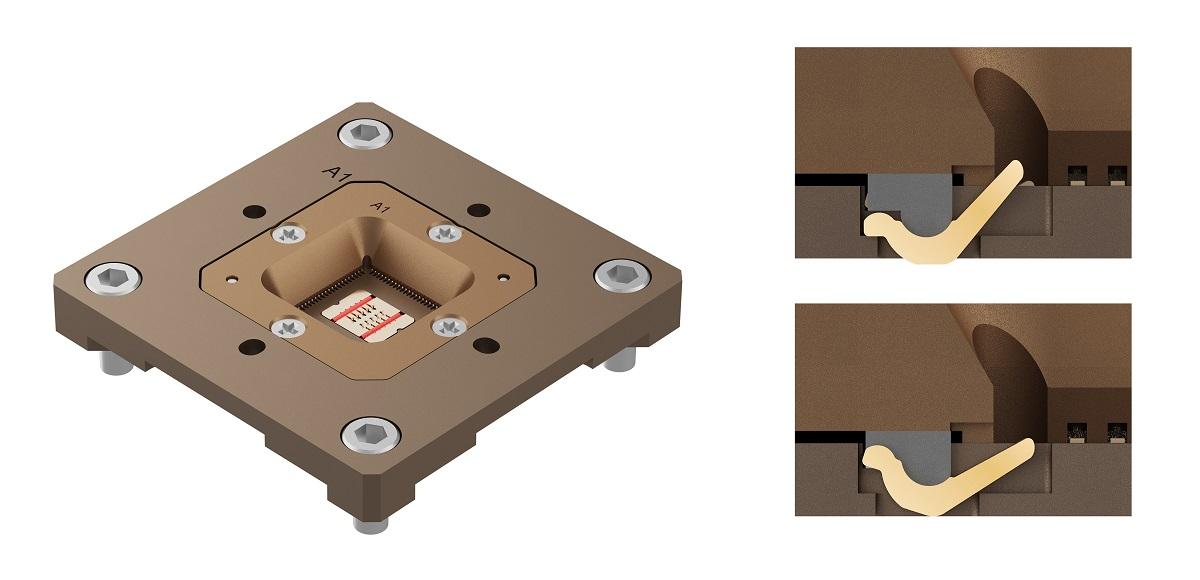 Joule 20射频芯片测试插座