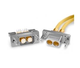 光纤通道D-Sub 150欧姆四屏蔽同轴连接器